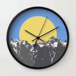 The Hills Wall Clock