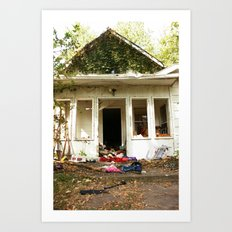 (broken) dream house Art Print