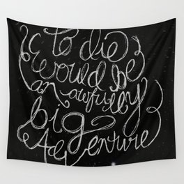 Peter Pan Quote Wall Tapestry