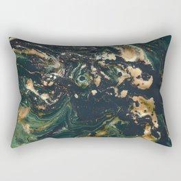 Fluid Gold Series II Rectangular Pillow
