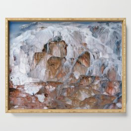 Mammoth Hot Springs Yellowstone Serving Tray