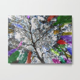 Colors in the Woods Metal Print
