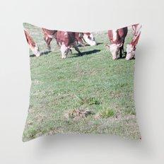 Cowabunga. Throw Pillow