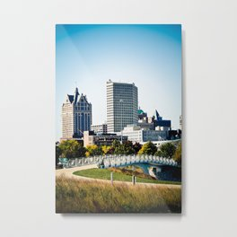 Milwaukee, WI Metal Print