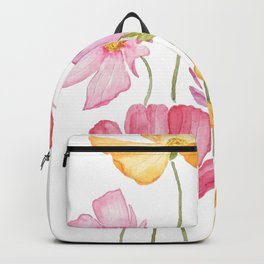 colorful cosmos flower Backpack