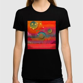"""Sci-fi Pop Landscape"" T-shirt"