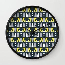 Rocket Launcher Pattern 2 Wall Clock