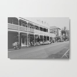 Streets of Cape Town Metal Print