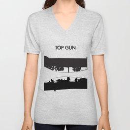 Top Gun Communicating  Unisex V-Neck