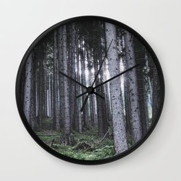 Fairest Forest Wall Clock
