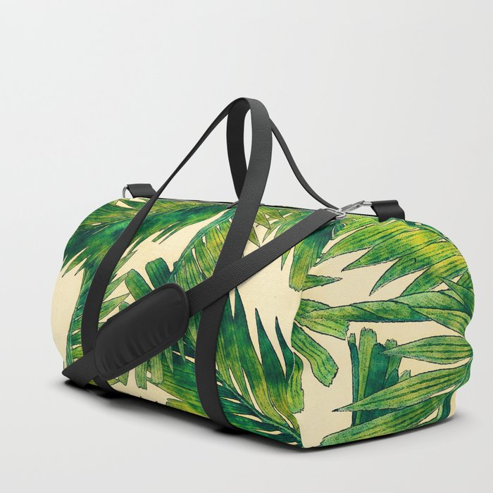 Palms #palm #palms #flower Duffle Bag