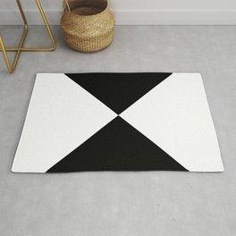 WHITE AND BLACK Rug