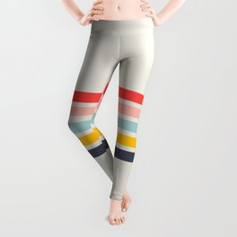 Naomori - Classic Minimal Retro Stripes Leggings