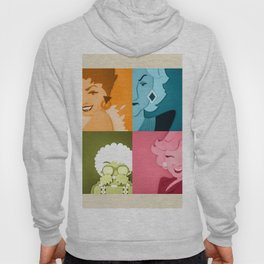The Golden Girls Abstract Hoody