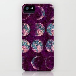 Celestial Moons iPhone Case