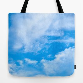 Sky Clouds Tote Bag