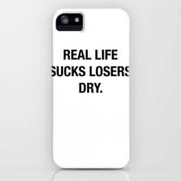 Heather Told Me She Teaches People Real Life iPhone Case
