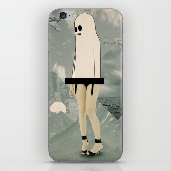 voila_voilà iPhone Skin