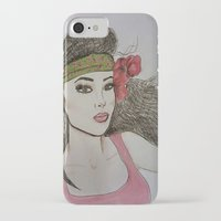 girly iPhone & iPod Cases featuring Girly,Girly by Nancy Ruvalcaba