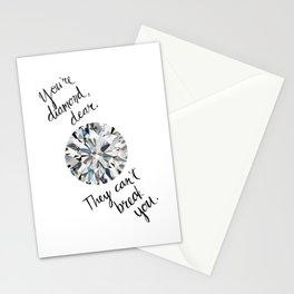 You Are Diamond Dear Stationery Cards