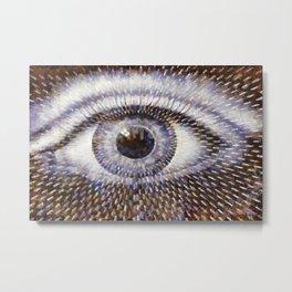 Eye-No Metal Print