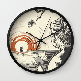 Once, I Hated the Sun Wall Clock