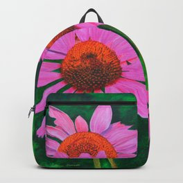 A Visitor In The Garden by Teresa Thompson Backpack