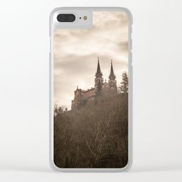 Basilica of Santa Maria la Real of Covadonga Clear iPhone Case