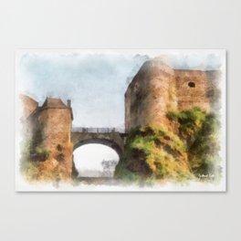 Château de Bouillon - Belgium Canvas Print