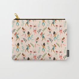 Central Park Zumba #illustration #pattern #womensday Carry-All Pouch