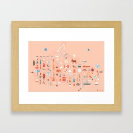 From C to Shining C Framed Art Print