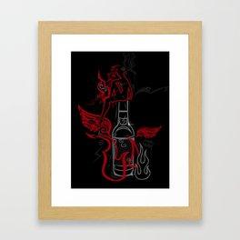 Debauche Framed Art Print