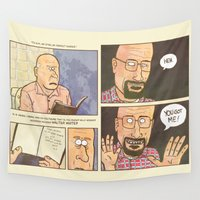walter white Wall Tapestries featuring WALTER WHITE? by pizzariadofelix