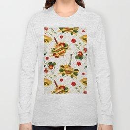 cheeseburger in gangstas paradise Long Sleeve T-shirt