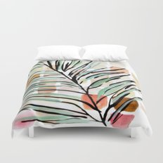 Darling, Through This Way: Under The Leaves Duvet Cover