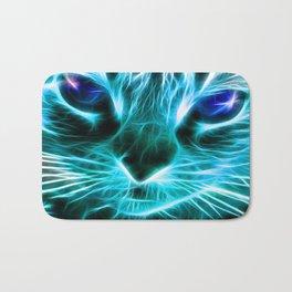 Lightning Cat Bath Mat