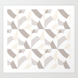 Geometric natural Art Print