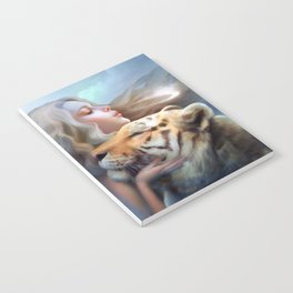 Angel of Tigers Notebook