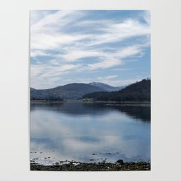 View over the Loch Poster