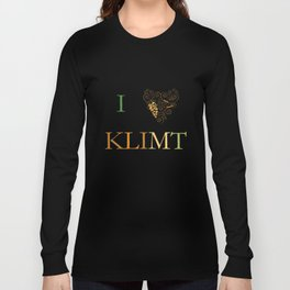 I heart Klimt Long Sleeve T-shirt