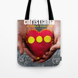 Christiania - 40 Years of Occupation Tote Bag