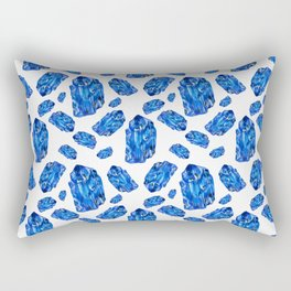 Tanzanite Birthstone Rectangular Pillow