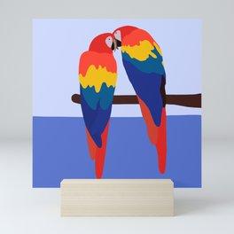 Scarlet Macaw Mini Art Print