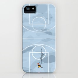 Slam Dunk   Abstract Aerial  iPhone Case