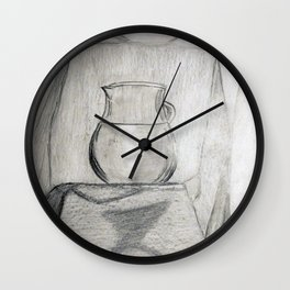still life with jug Wall Clock