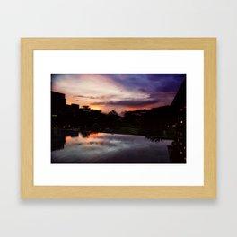 7PM Framed Art Print