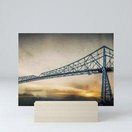 Steel Icon Mini Art Print