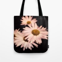 daisies Tote Bags featuring Daisies by Christine Belanger