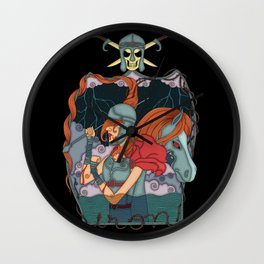 Iron soldier Wall Clock