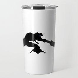 Anime Kirito Inspired Shirt Travel Mug